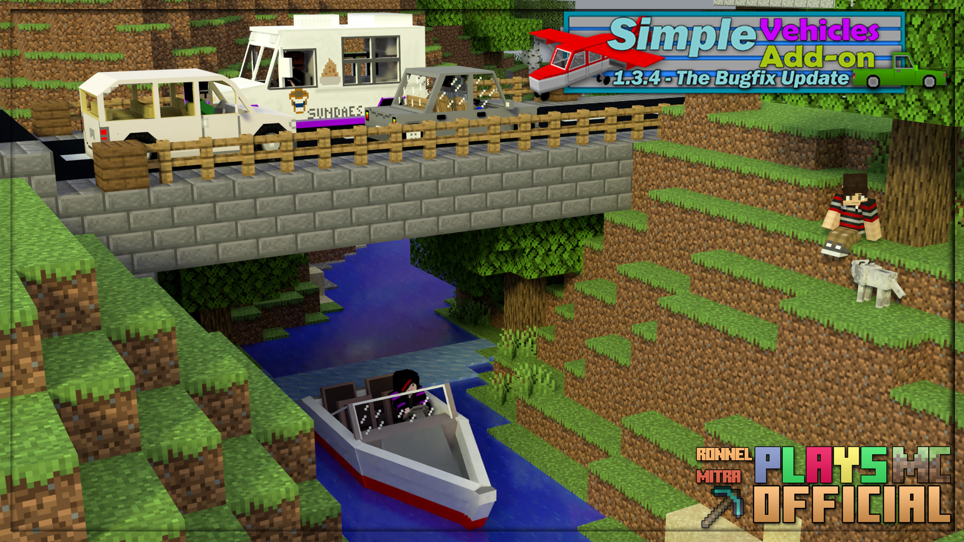 Simple Vehicles Add On Version 1 3 4 For Minecraft Bedrock 1 16 1 16 100 Linkvertise